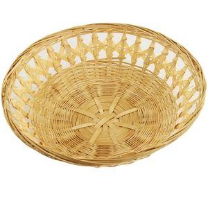 Set of 6 Vintage Wicker Baskets